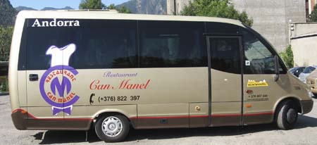 Bus to Andorra