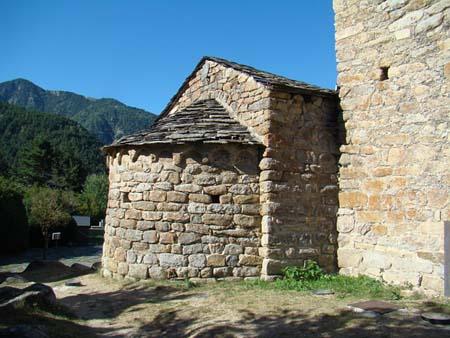 Sant Miquel d'Engolasters, Escaldes-Engordany, Andorre