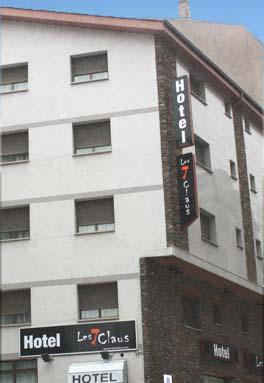 Hotel Les 7 Claus, Escaldes-Engordany