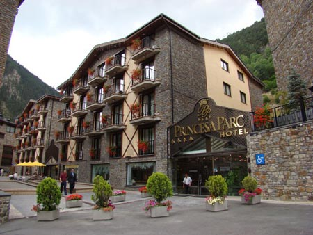 Hotel Spa Princesa Parc, Arinsal
