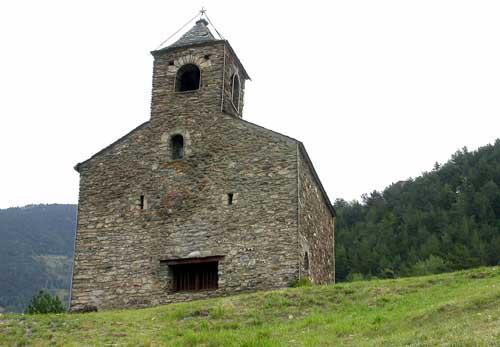 Église de Sant Cristòfol de Anyós