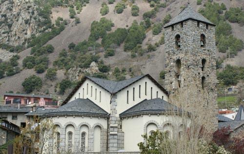 Église de Saint Esteve, Andorre-la-Vieille