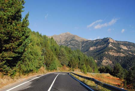 Travelling by Car to Andorra
