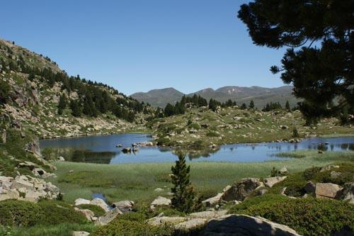 Lago Forcart, Encamp, Andorra