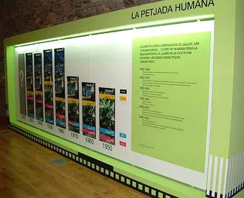 Panel Centro da Naturaleza de La Cortinada