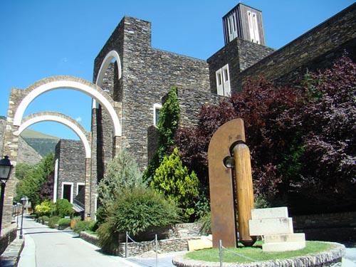 Santuario de Meritxell, Canillo