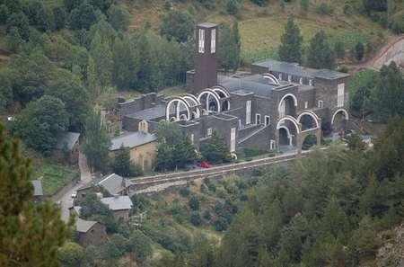 Santuario de Meritxell, Canillo, Andorra