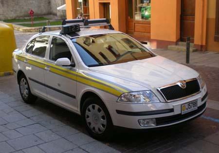 Táxi em Andorra